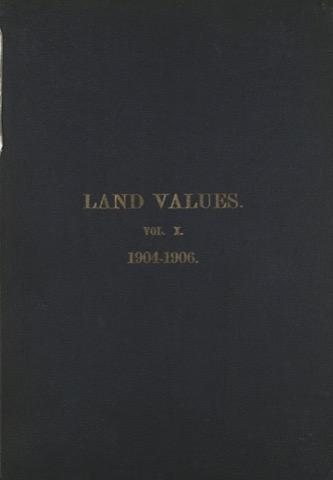Land Values Vol 10 - 1904-1906
