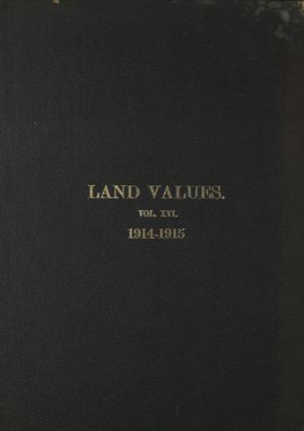 Land Values Vol 16 - 1914-1915