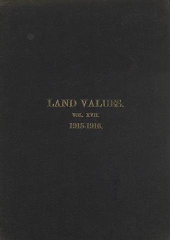 Land Values Vol 17 - 1915-1916