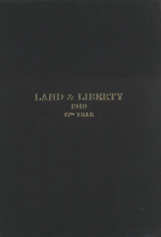 Land and Liberty 1940 - 47th Year