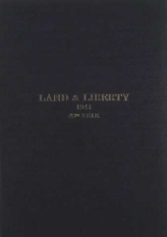Land and Liberty 1941 - 48th Year