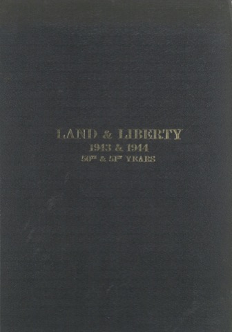 Land and Liberty 1943-1944 - 50th & 51st Years